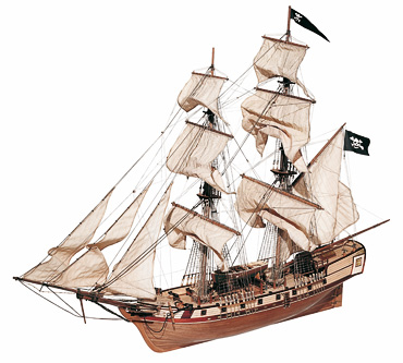 Постройка деревянной модели